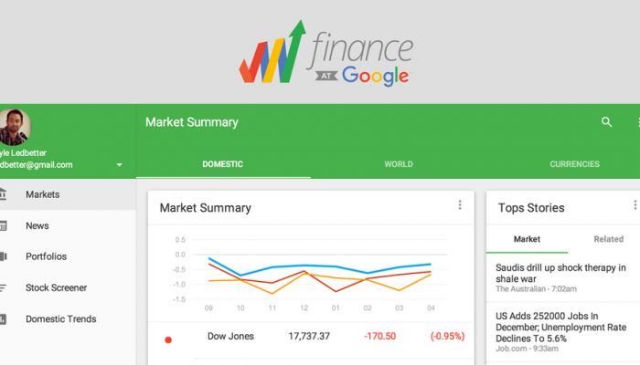 Google Finance, cos'è e come si usa